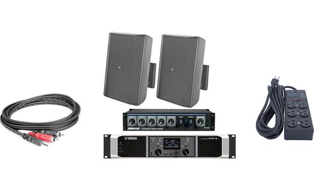 Electro-Voice Gym Sound System Bundle Front