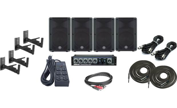 Electro-Voice High Output Gym Bundle Front