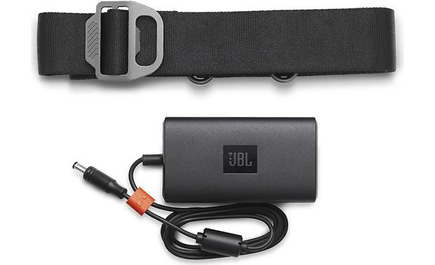JBL Xtreme 2 Included carry strap and power adapter