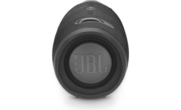 JBL Xtreme 2 Midnight Black - side-firing bass radiators