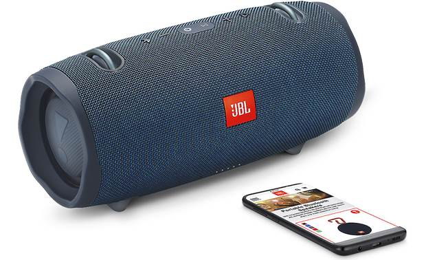 JBL Xtreme 2 Ocean Blue - stream wirelessly via Bluetooth (smartphone not included)