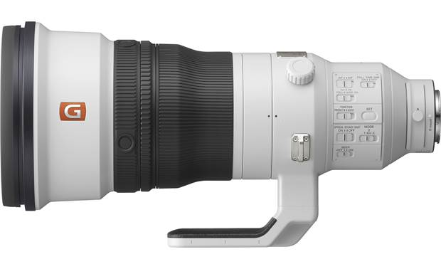 Sony FE 400mm f/2.8 GM OSS Side view