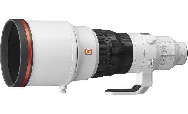 Sony FE 400mm f/2.8 GM OSS Shown with included hood