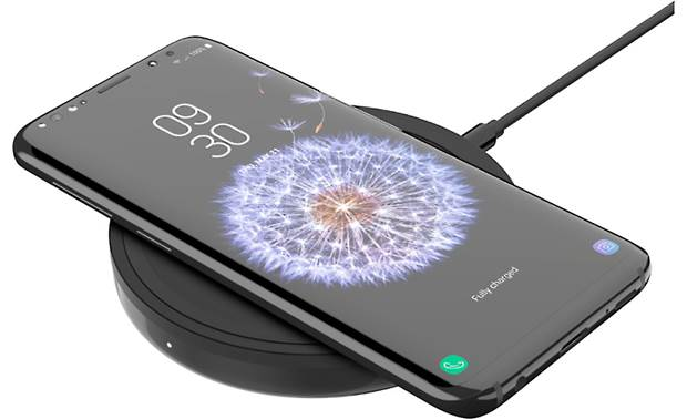 Belkin BOOST↑UP™ Phone shown on charger (phone not included)