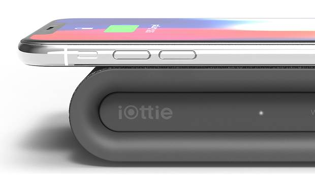 iOttie iON Wireless Plus Shown with phone on charger (phone not included)