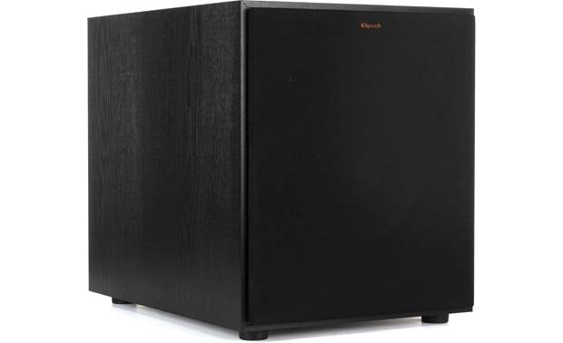 Klipsch R-120SW Shown with magnetic grille in place