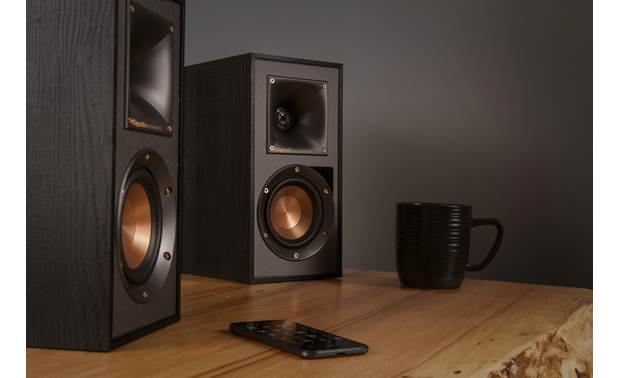 Klipsch Reference R-41PM Play music from your phone via Bluetooth or the 3.5mm input jack