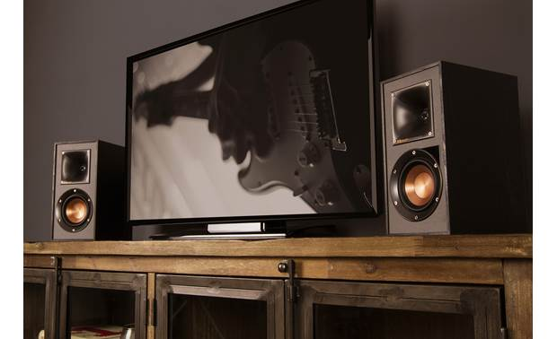Klipsch Reference R-41PM Plug your TV (not included) into the optical input to improve sound