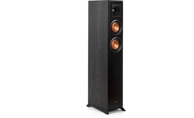 Klipsch Reference Premiere RP-4000F Angled view with magnetic grille removed