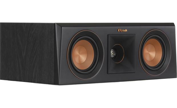 Klipsch Reference Premiere RP-400C Angled view with grille removed