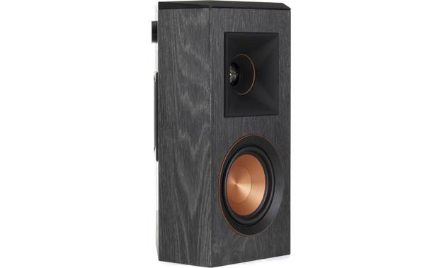 Klipsch RP-5000F 5.1 Home Theater Speaker System Shown from side with grille removed (speakers are sold as pairs)