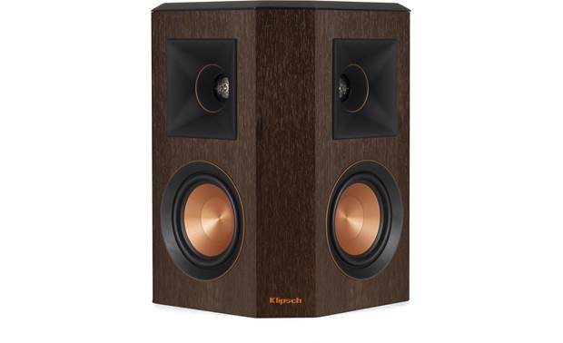 Klipsch Reference Premiere RP-402S Shown individually with grille removed (speakers are sold as pairs)