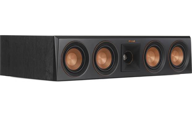 Klipsch Reference Premiere RP-404C Angled view with grille removed