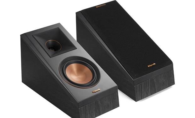 Klipsch Reference Premiere RP-500SA Shown with one grille removed