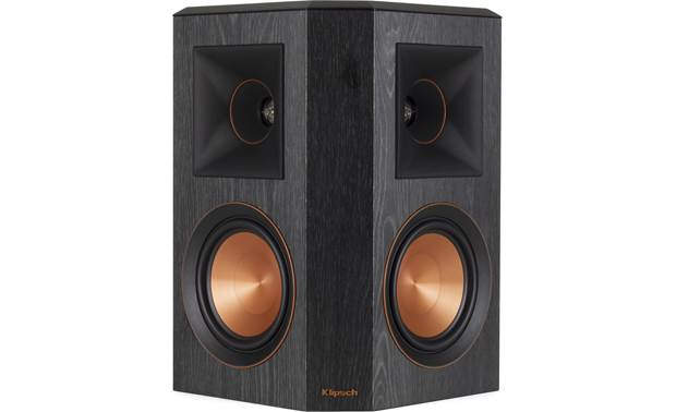 Klipsch RP-8060FA 5.1.2 Dolby Atmos® Home Theater Speaker System Surround speaker shown individually with grille off