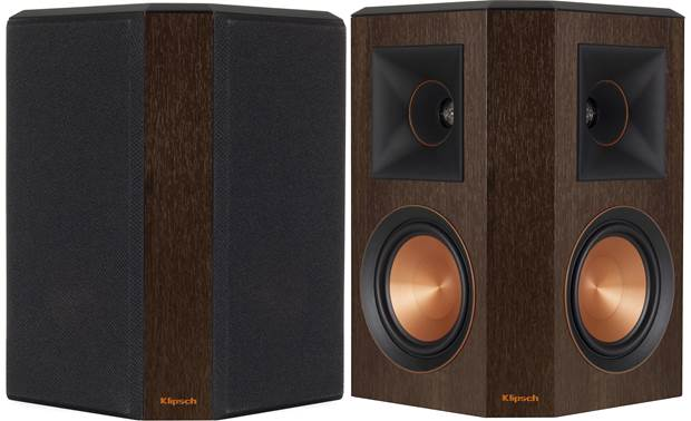 Klipsch Reference Premiere RP-502S Shown with one grille removed