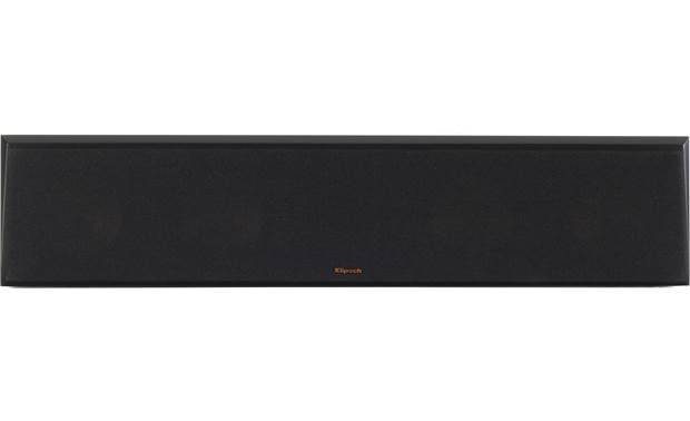 Klipsch RP-8060FA 5.1.2 Dolby Atmos® Home Theater Speaker System Direct view of center channel with grille in place