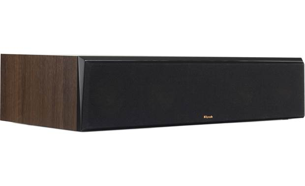 Klipsch Reference Premiere RP-504C Angled view with grille in place