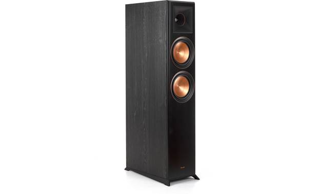 Klipsch Reference Premiere RP-6000F Angled front view with grille removed