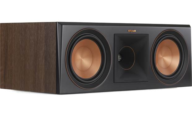 Klipsch Reference Premiere RP-600C Angled view with grille removed