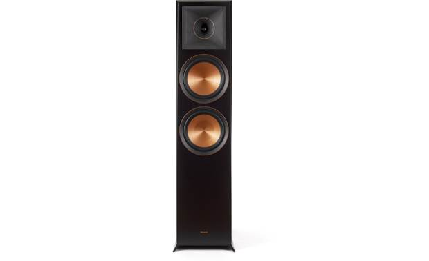 Klipsch RP-8060FA 5.1.2 Dolby Atmos® Home Theater Speaker System Direct view of floor-standing speaker with grille removed