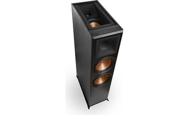 Klipsch RP-8060FA 5.1.2 Dolby Atmos® Home Theater Speaker System View of Atmos driver with speaker grilles removed