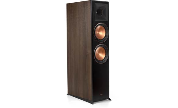 Klipsch Reference Premiere RP-8060FA Angled view with grille removed