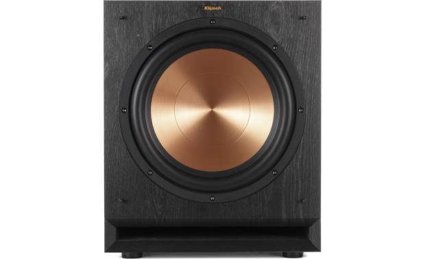 Klipsch RP-8060FA 5.1.2 Dolby Atmos® Home Theater Speaker System Direct view of sub with grille removed