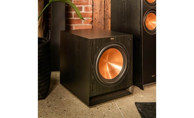 Klipsch SPL-120 Shown in room with grille removed