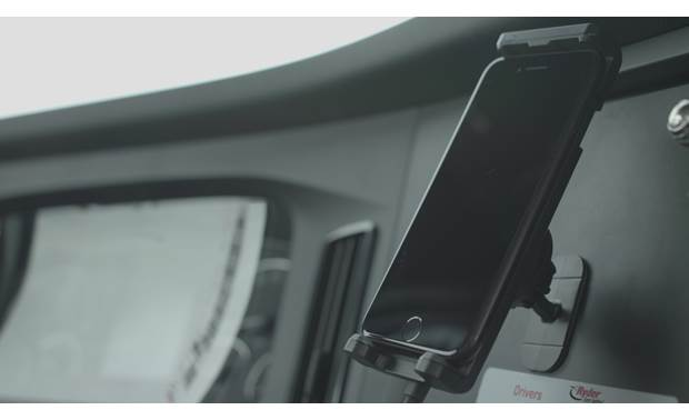 weBoost Drive Sleek OTR Cradle attached to magnetic mount (smartphone not included)