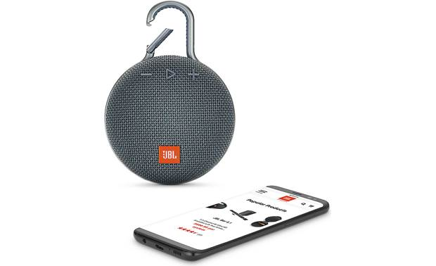 JBL Clip 3 Ocean Blue - stream wirelessly via Bluetooth (smartphone not included)