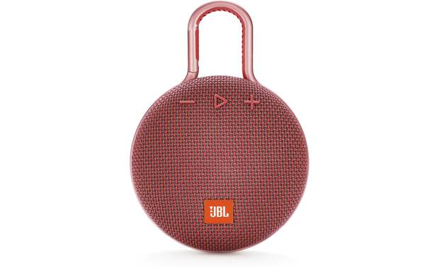 JBL Clip 3 Fiesta Red - front