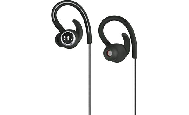JBL Reflect Contour 2 Wraparound ear hook design helps keep the earbuds stable