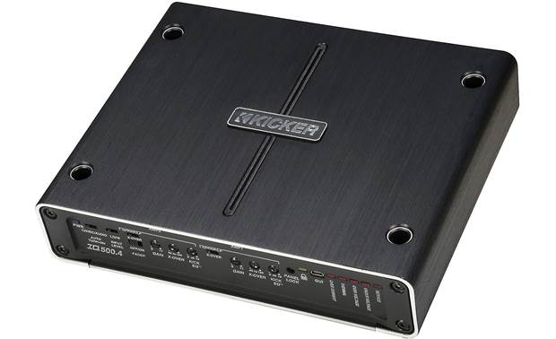 Kicker 42IQ500.4 4-channel amp and DSP