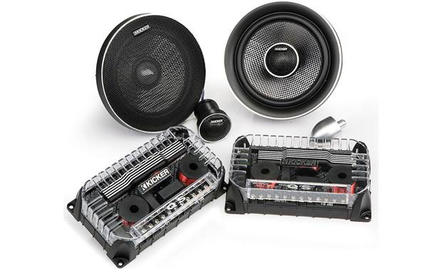 Kicker Q-Class 41QSS654 Install this system as components or coaxials
