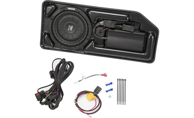 Kicker VSS SubStage™ SCOCRE15 custom-fit powered subwoofer