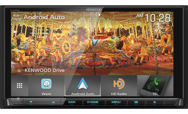 Kenwood Excelon DDX9905S The gorgeous touchscreen display shows off all your media in crystal-clear high definition