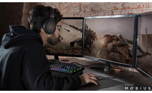 Audeze Mobius Sophisticated head-tracking technology helps keeps gameplay sound in sync with visuals