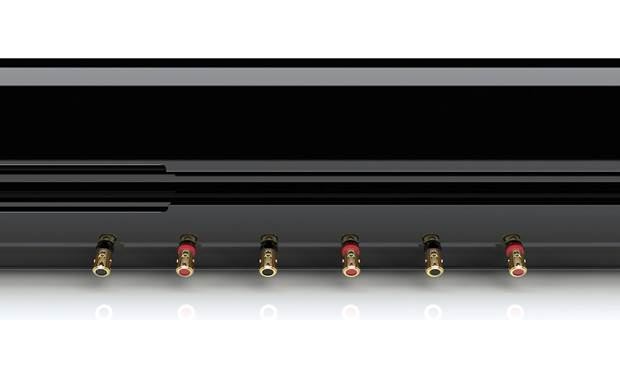 KEF HTF8003 Connects to your receiver's left, center, and right channels