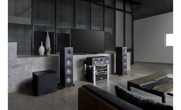 KEF Q650c Shown as part of a complete Q Series system