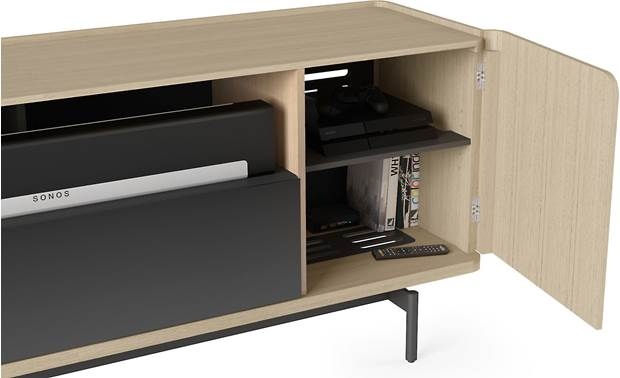 BDI Radius 8839 Drift Oak - side compartment storage (components and accessories not included)