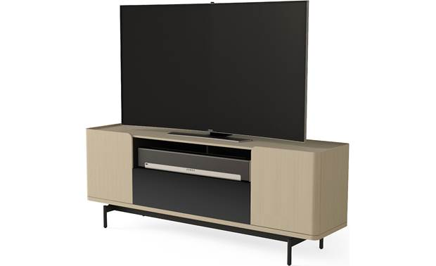 BDI Radius 8839 Drift Oak - right front (sound bar and TV not included)