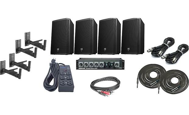 Electro-Voice High Output Gym Sound System Bundle
