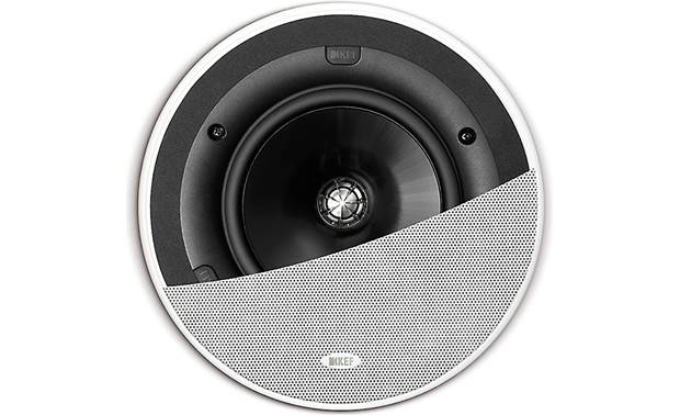 KEF Ci160QR Shown with grille partially cut away