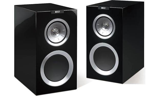 KEF R300 Shown with magnetic grilles removed