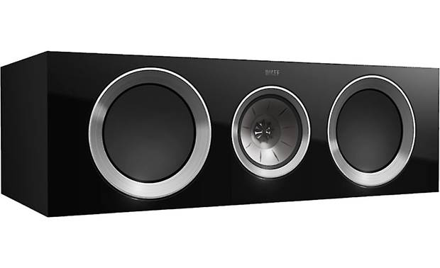 KEF R600C Shown with magnetic grille removed
