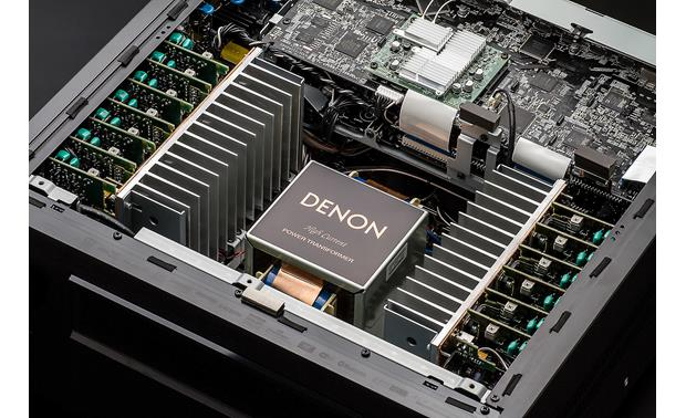 Denon AVR-X8500H A high-current power transformer delivers rock-solid amplification