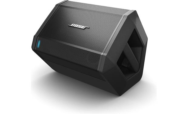 Bose S1 Pro Value Pack set up as a floor monitor