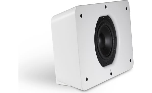 Bluesound Pulse Sub White - with grille removed