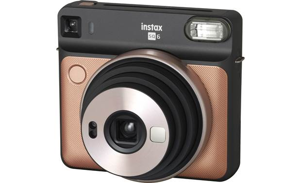 Fujifilm Instax SQUARE SQ6 Retracting fixed-focus lens